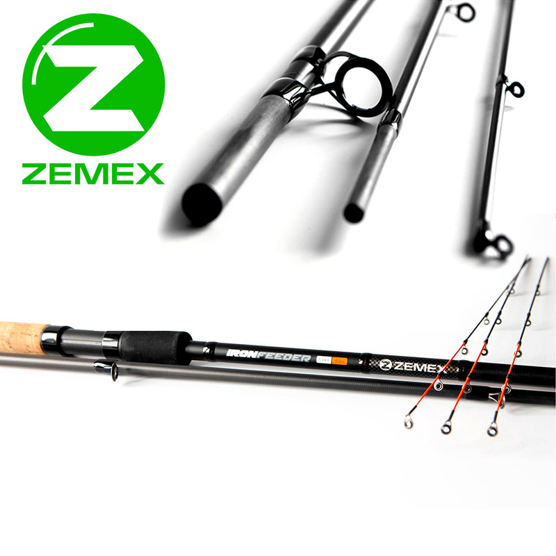 ZEMEX IRON Flat-Method Feeder 13 ft - 140 g - фото